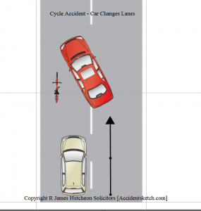 Car Changing Lane